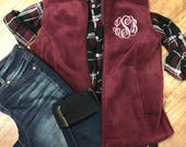 Monogram Fleece Vest