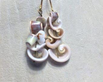 Shell Slice Earrings