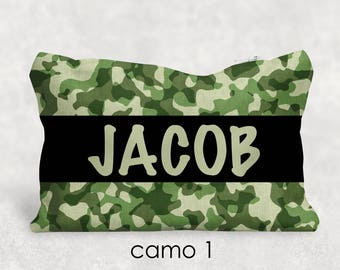 Personalized Camo Pencil Pouch - Back to School - Personalized Gift - Teacher