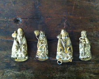 Chinese Amulets, Children's Protection Buddha Amulets