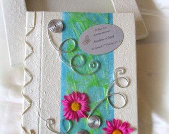 Guestbook/wedding-christening-engagement / multicolor original