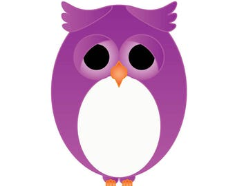 Shooppy the Owl Clipart