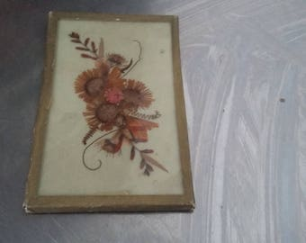 Vintage Dried Flower Collage