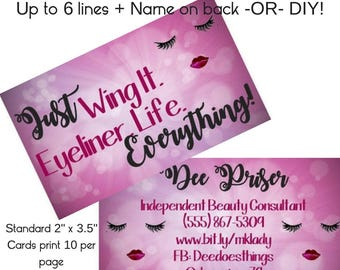 avon business cards etsy