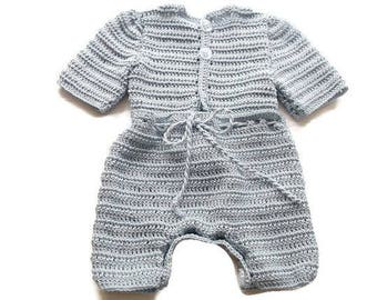 Light Blue pants, diaper covers and sweater set for baby, reborn baby, preemie, newborn