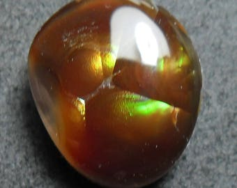 Beautiful fire agate cab (E3025)