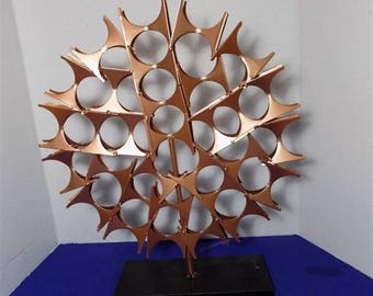 NEW Modern Art Metal Sculpture Collectible Figurine Hand Made Home Decor Gift
