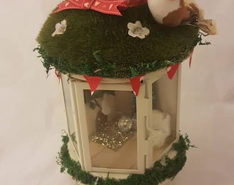 Oh Christmas fairy house