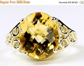 On Sale, 30% Off, Citrine, 14KY Gold Ring, R057