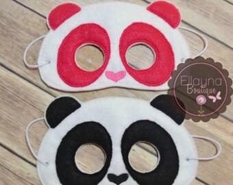 Felt Mask - Panda
