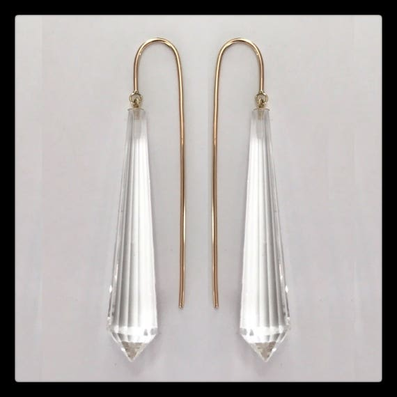 The Linette Crystal Earrings