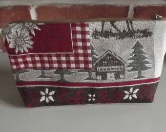 handcrafted French toilet souvenir mountain cabin