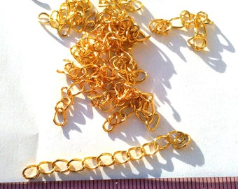 20 extension or 50x3mm Golden Extender chains