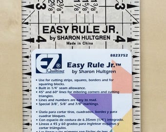 EZ Easy Quilting Quilt Ruler 3.5 x 9.5 inches designed by Sharon Hultgreen