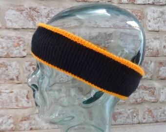 Headband Retro 80's Approx.38cm x 5.3cm Ski Winter Vintage