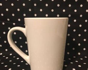11oz white mug with your choice of design
