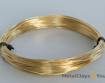 Unplated Half Hard Brass Round Wires