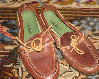 L.L Bean Leather  Shoes - Size 8 - Men's