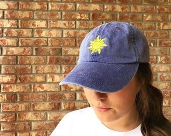 Tangled inspired Sun dad hat, baseball hat