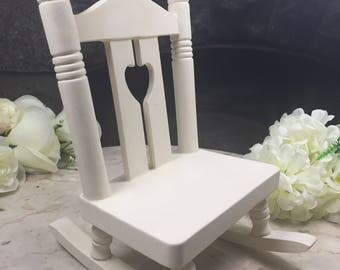 Ceramic Bisque Ready To Paint Rocking Chair, Paint Your Own Ceramics Rocking Chair, U Paint Ceramic