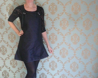 Tunic / short silk dress
