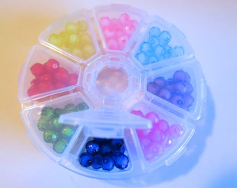 "1 box ""beads"" 8mm assorted (JC170)"