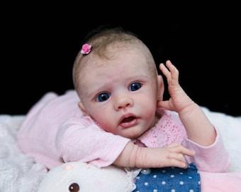 LAYAWAY - Ella Wegerich Combi Reborn Baby Doll Girl by Reborn Sweet Shaylen Maxwell iiora 2016-2018