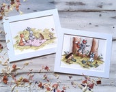 Two Original illustrations For Aude