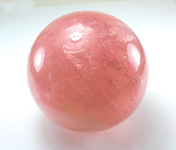 Rose Quartz Sphere, AAA, M-1454