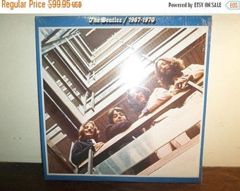Save 30% Today Vintage 1970 LP Record The Beatles 1967-1970 Apple Records RARE Still Factory Sealed In Shrink Mint Condition 10441