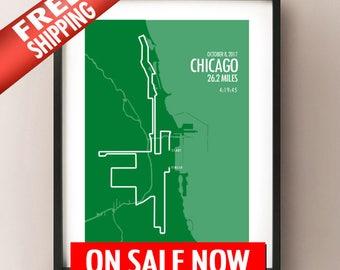 New 2017 Chicago Marathon - LIMITED SALE - FREE Shipping!