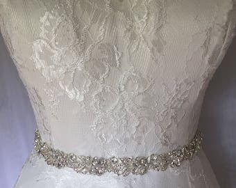 Wedding belt | bridal sash | bling belt