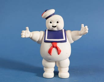 Ghostbusters Stay Puft Marshmallow Man - Vintage 1984 Plastic Toy