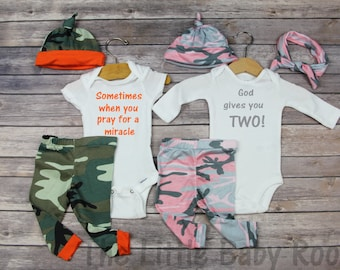 Boy girl twins etsy twins coming home outfitboy girl twin outfitspray miracle twopreemie negle Choice Image