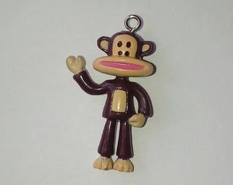 X 1 large kawaii monkey mouth