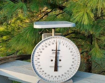 Industrial Hanson 60 LB Scale Model 2060 Gray Metal