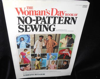 Sewing book Womans Day No Pattern Sewing by Lorraine Ruggieri illustrated