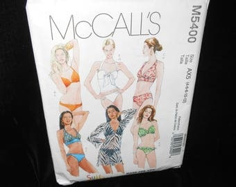 Misses Bathing Suit Coverup McCalls M5400 Womens 4-12 Swimsuit Coverup