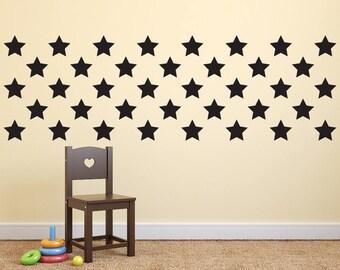 Star Wall Art stars wall decor | etsy