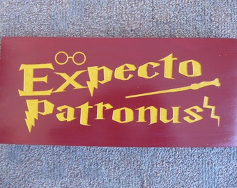 Wizard sign, Harry Potter fan, Handcrafted sign, Gift, Birthday