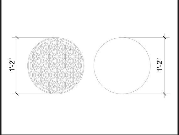 RESERVED Custom Sacred Geometry Wood Wall Art
