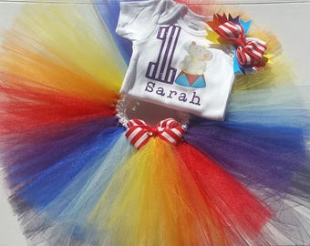 Carnival/ Circus Onesie and Tutu Set (ON SALE)