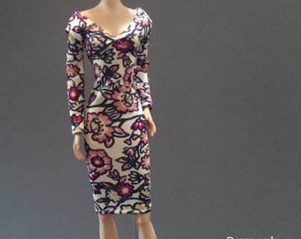 Dolls dress for Barbie,Tall barbie, FR,Silkstone,Vintage barbie- No.0575