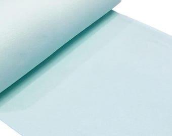 Summer Sale mint straight rib tubular fabrics
