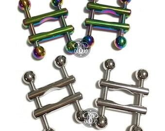 Adjustable Steel Nipple Clamps