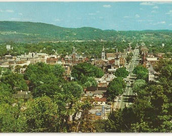 1950s Chrome Postcard- Aerial View of Chillicothe, Ross County, Ohio, OH. ~ Free Shipping