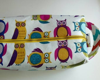 Goldie Box Bag - Owls