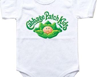 Baby bodysuit cabbage patch 1 Halloween costume CPK One Piece Bodysuit Funny Baby Child boy Clothing Kid's Shower boy