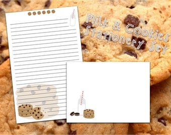 Cookies and Milk Stationery