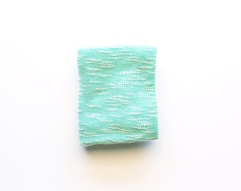 Mint Textured Swaddle Blanket